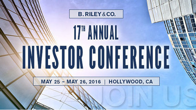 B. Riley & Co. 17th Annual Investor Conference in Hollywood, CA