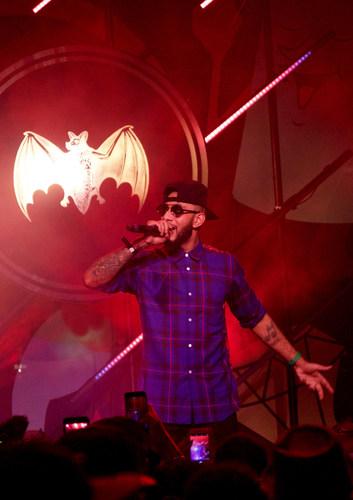 Swizz Beatz Live at Bacardi No Commission (PRNewsFoto/BACARDI)