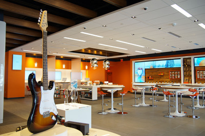 AT&T's first Store of the Future for 2014 opens in Sandy, UT. The new store is located at 11316 State Street. The new store concept is the result of more than two years of exploration and research all centered on one design goal - to create a more interactive and inviting store environment. The store layout will highlight AT&T's products and services, devices and accessories across three unique zones - the Connected Experience Zone, the Community Zone, and the Explore Zone.