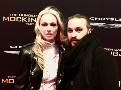 Isabel Adrian & Steve Angello The Hunger Games Premiere Los Angeles Photo Credit: Cult Collective Pia Lindstrom