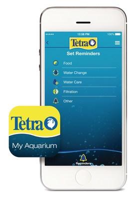 Home screen of the My Aquarium App.