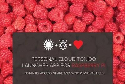 Tonido for Raspberry Pi (PRNewsFoto/CodeLathe)