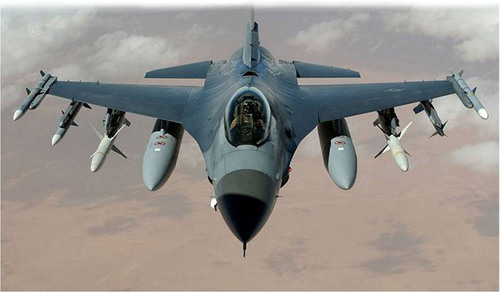 Raytheon's Center Display Unit gives F-16 pilots the ability to control and display information from both ...