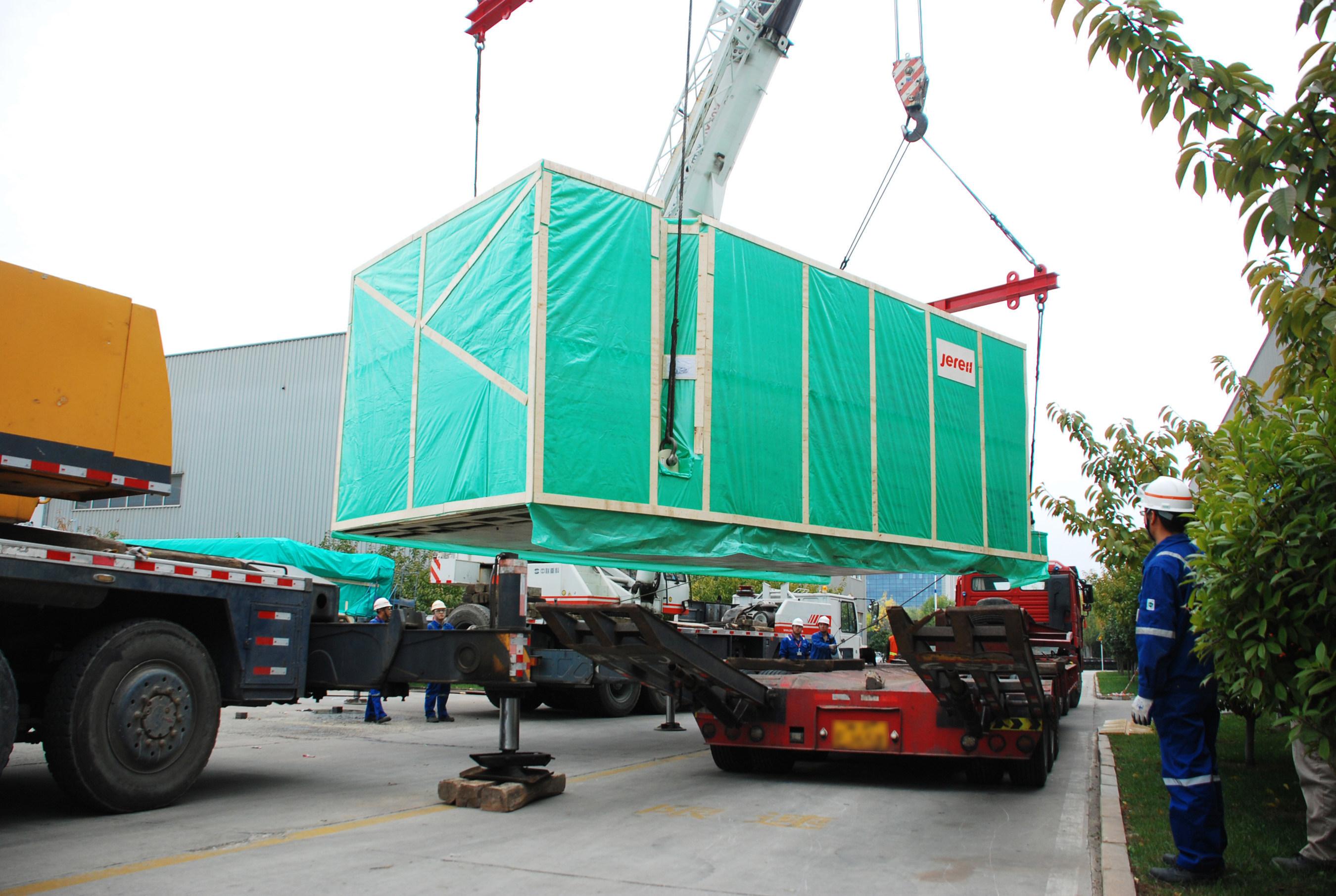 Jereh Delivers 5 sets of Compressors to Algeria