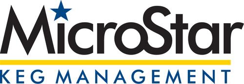MicroStar Keg Management logo (PRNewsFoto/MicroStar Logistics)