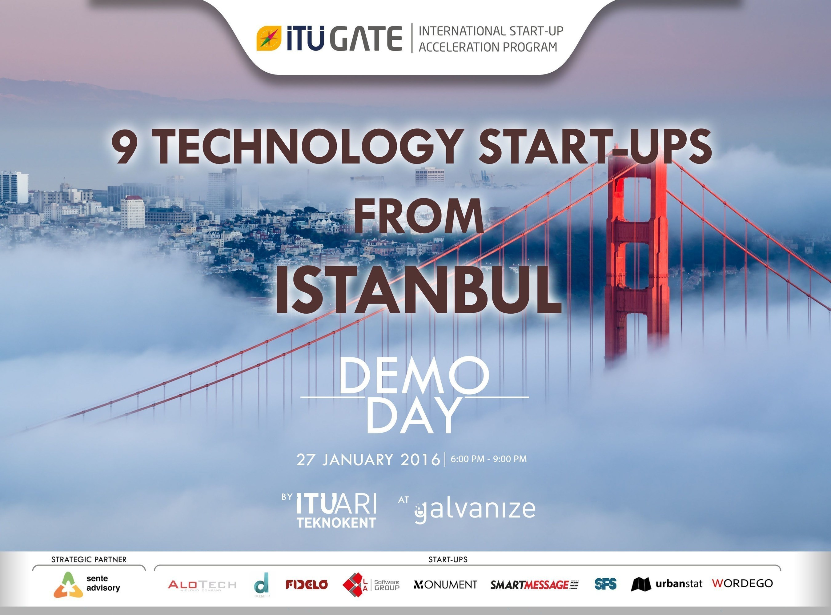 ITU GATE San Francisco Demo Day Top startups from Istanbul showcased to San Francisco!