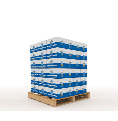 Just In Time For The Holidays White Castle Unveils The Ultimate Gift To Satisfy Your Crave - White Castle selling first-ever Crave Pallet of 6,912 Sliders!.  (PRNewsFoto/White Castle)