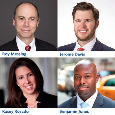 Ankura Consulting Group continues its rapid growth and strengthens its Turnaround and Restructuring practice with the addition of Jerome Davis, Benjamin Jones, Kasey Rosado and Roy Messing. (clockwise from top right)
