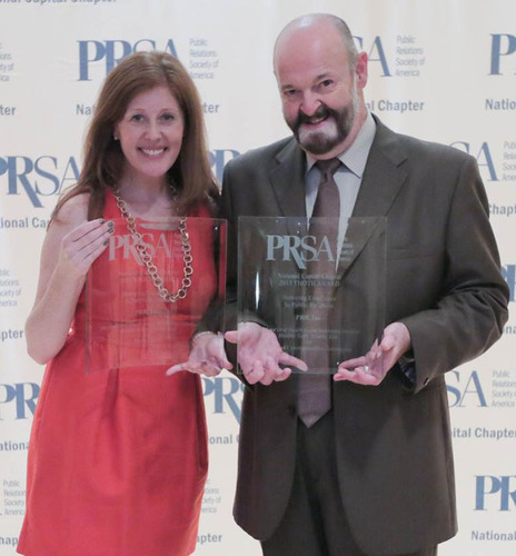 PRR's Keri Shoemaker and John Welby, Director of Oral Health Literacy, Maryland Office of Oral Health, ...