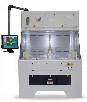 Semi-Auto Wet Processing for Semiconductors and MEMs. (PRNewsFoto/MEI Wet Processing Systems and Services) (PRNewsFoto/MEI WET PROCESSING SYSTEMS)