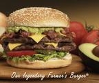 Farmer Boys Restaurants' Farmer Burger.  (PRNewsFoto/Farmer Boys Foods, Inc.)