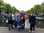Six of the seven finalists in the ShowBoats Design Awards competition — Timur Bozca, Jake Edens, Isik Goren, Ben Hills, Harun Kemali and Antonella Scarfiello — arrived in Amsterdam the evening of May 27 and were accompanied to a welcome dinner by Oceanco's Marketing and Sales Department.