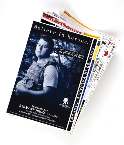 News America Marketing Supports Believe in Heroes™ Campaign This Veterans Day