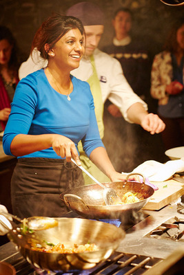 MATRADE Appoints Acclaimed Cookbook Author, Christina Arokiasamy Teaching Chef and Spice Expert as Malaysia's Food Ambassador to the U.S.  (PRNewsFoto/Malaysia Kitchen for the World Program)