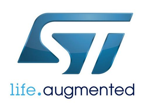 STMicroelectronics Logo.  (PRNewsFoto/Preventice, Inc.)