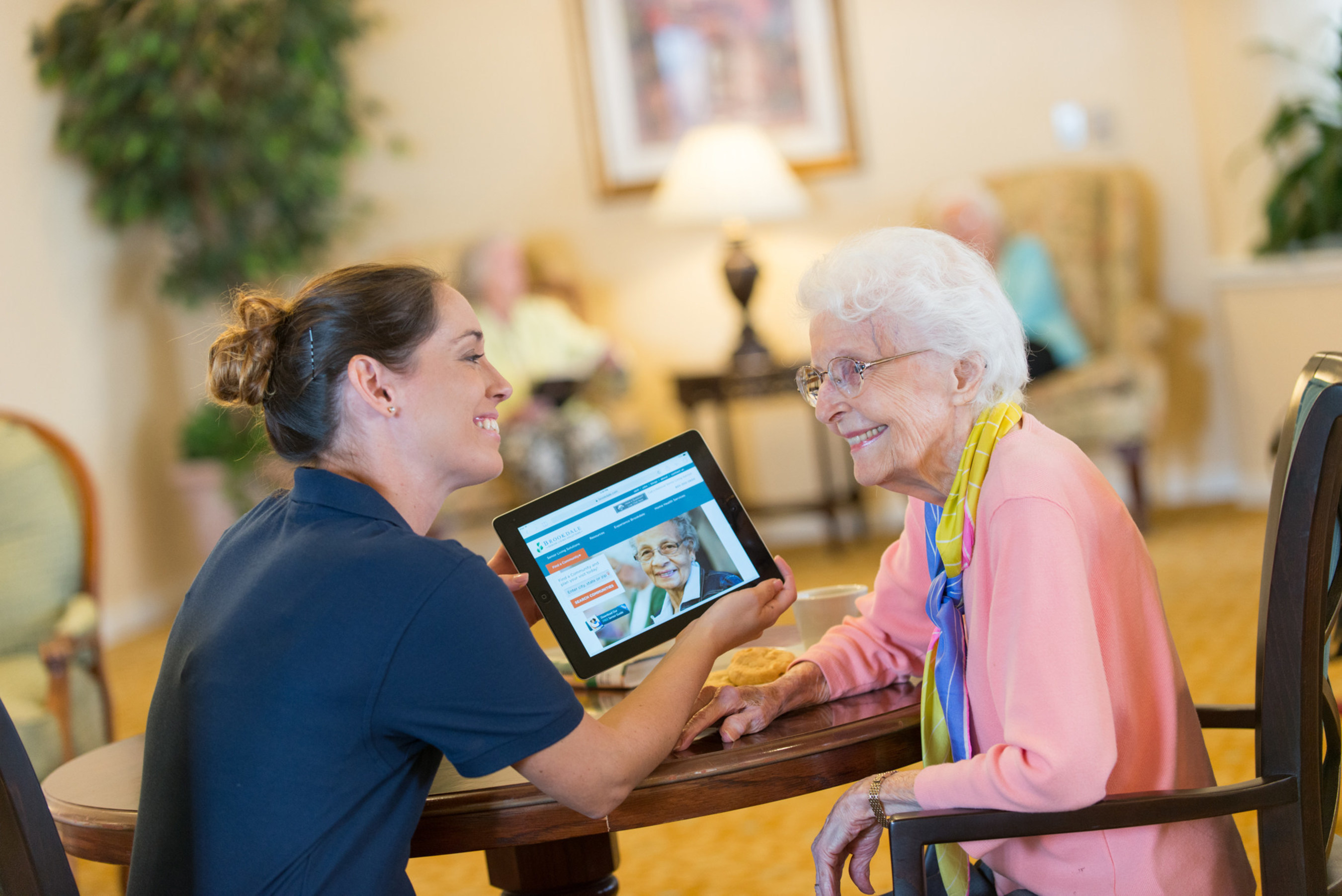 Brookdale expands program to transform seniors' lives by incorporating technology programming into its senior living communities.