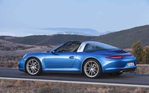 Porsche 911 Targa. (PRNewsFoto/Porsche Holding SE) (PRNewsFoto/PORSCHE HOLDING SE)