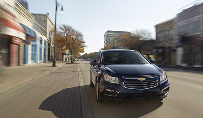 2015 Chevrolet Cruze (PRNewsFoto/General Motors)