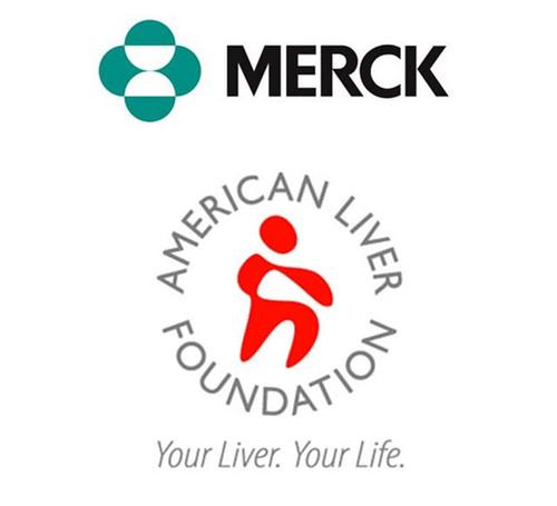 Merck and American Liver Foundation.  (PRNewsFoto/Merck)