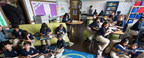 Students in Chicago's CICS West Belden Elementary in a personalized learning classroom. LEAP Innovations is leading a national program to help district's scale innovations that work for teachers and students to create next-generation schools like this one, which tailor instruction for each student.