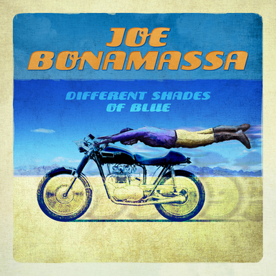 "GRAMMY-nominated Joe Bonamassa releasing new solo album with all new material ""Different Shades Of Blue"" on September 23, 2014.  (PRNewsFoto/Joe Bonamassa)"