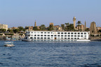 Grand Circle's M/S Anuket plies the waters of Egypt's Nile River.  (PRNewsFoto/Grand Circle Corporation)
