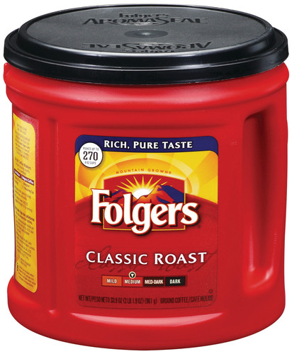 Folgers Packaged Coffee (PRNewsFoto/The J. M. Smucker Company)