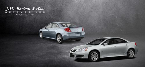 The Pontiac G6 is still a highly desired car in the market. (PRNewsFoto/J.H. Barkau & Sons)