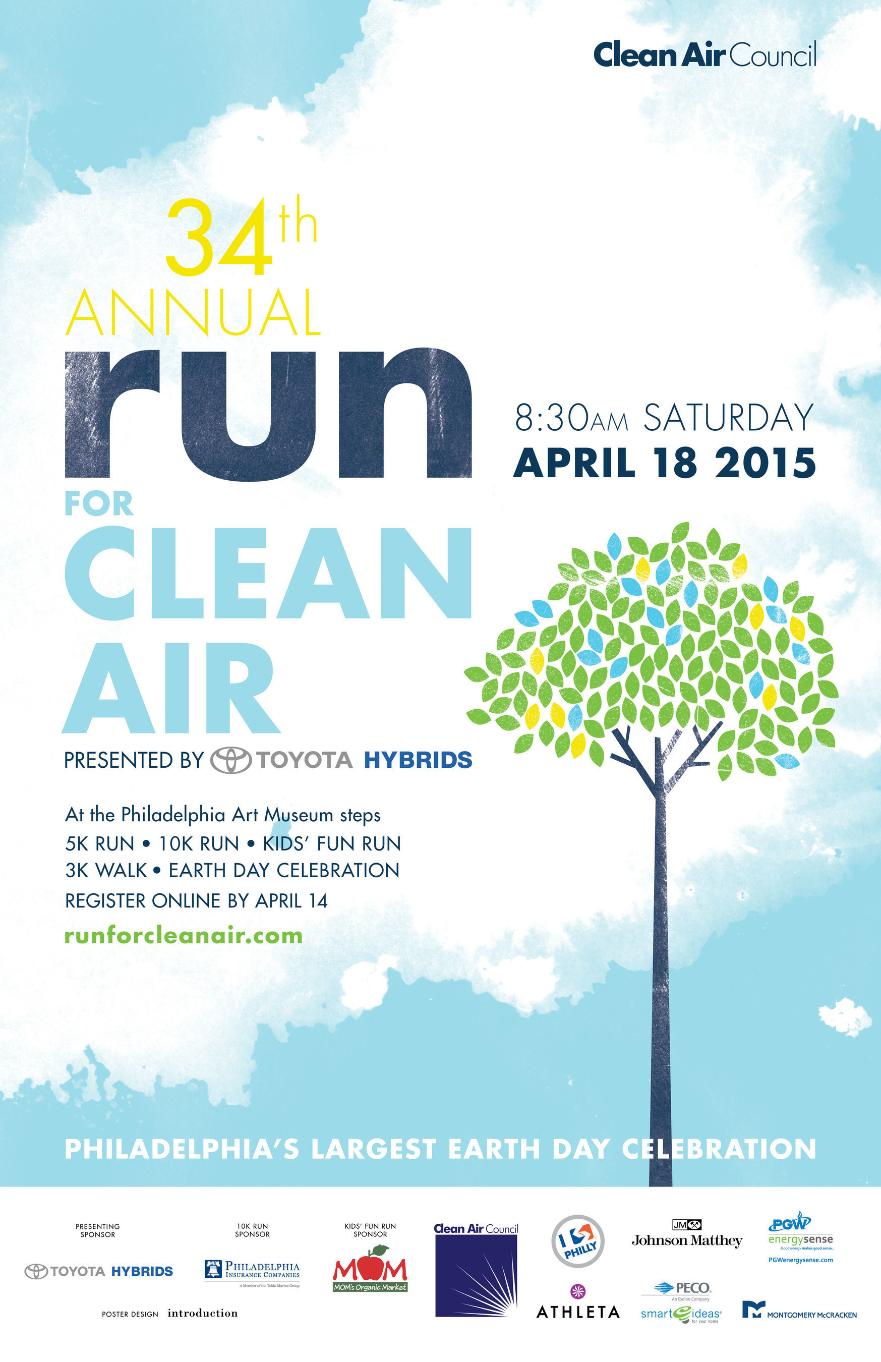 Thousands Celebrate Earth Day and Run for Clean Air in Philadelphia