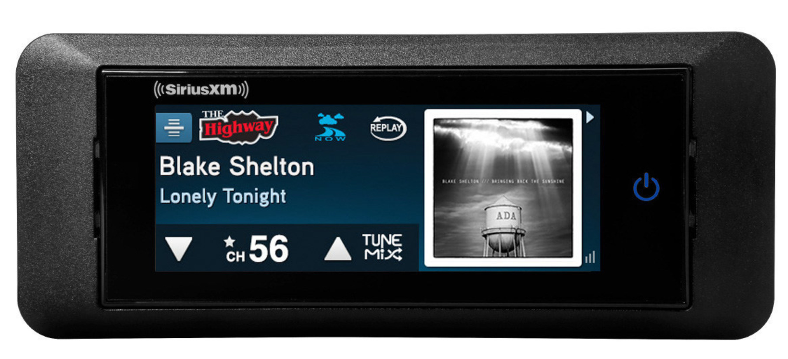 SiriusXM Commander Touch includes a flush mount kit to allow for custom integration into the vehicle