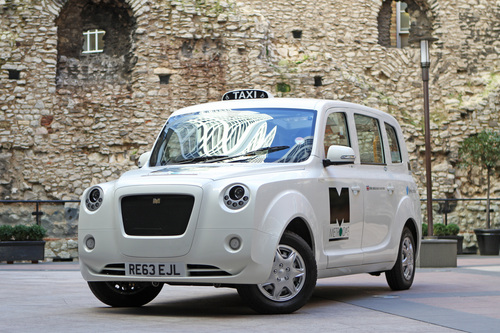 The all-new zero-emission-capable world taxi from Metrocab (PRNewsFoto/Metrocab)