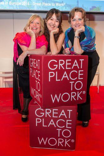 Three of the PASCOE happy employees (PRNewsFoto/Pascoe Natural Medicine)