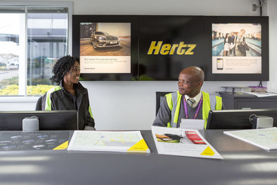 kingston college travel and tourism students get a taste of working at hertz london heathrow in. Black Bedroom Furniture Sets. Home Design Ideas