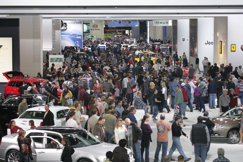 Hundreds of Thousands to Attend 2011 North American International Auto Show.  (PRNewsFoto/North American ...