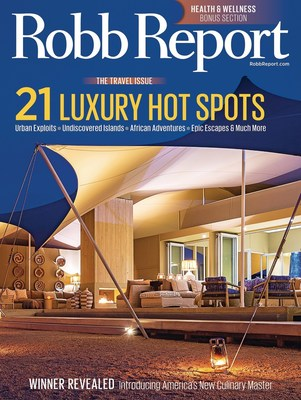 Robb Report Unveils January Travel Issue