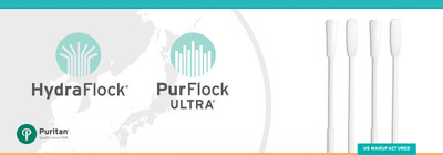 Puritan Medical Products awarded two new Japanese patents for high-performance flocked swabs. Puritan's flocked swabs have been shown to be the most efficient on the market. (PRNewsFoto/Puritan Medical Products) (PRNewsFoto/PURITAN MEDICAL PRODUCTS)