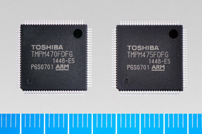 Toshiba's TMPM470FDFG and TMPM475FDFG ARM(R) Cortex(R)-M4F processor-based microcontrollers are designed for high-efficiency operation in home appliances, factory automation systems and industrial applications.