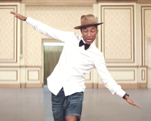 "GRAMMY(R) Award-Winning Superstar Pharrell Williams Signs With Columbia Records; New Single ""Happy"" ..."