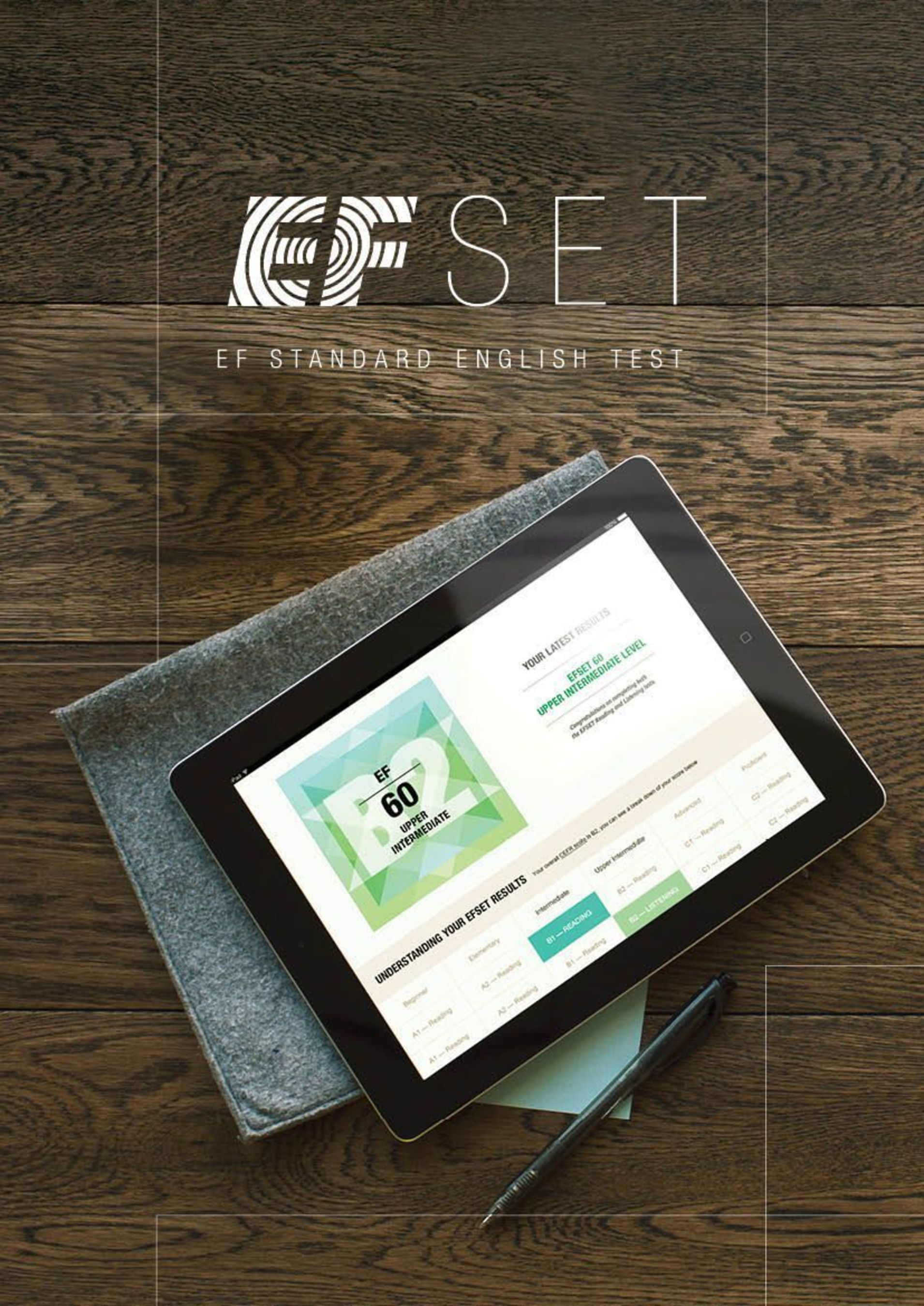 EF Education First to launch EF Standard English Test (EFSET), the worldâeuro(TM)s first free standardized English test, on September 30, 2014 (PRNewsFoto/EF Education First)
