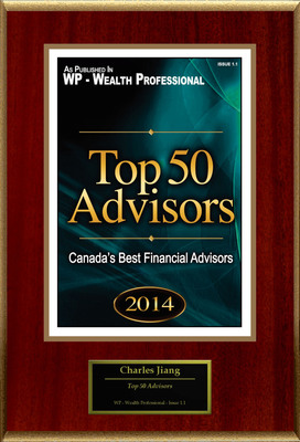 "Charles Jiang Selected For ""Top 50 Advisors"".  (PRNewsFoto/American Registry)"