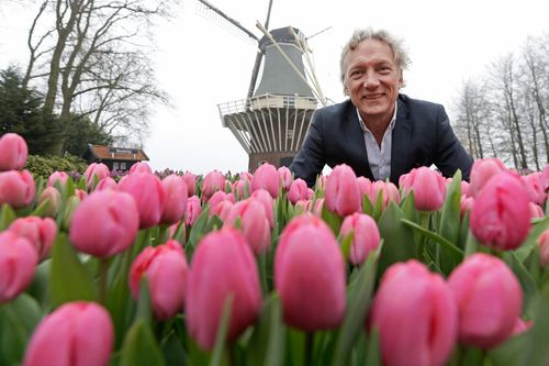 Keukenhof 2015 season opened by Willem van Gogh (PRNewsFoto/Keukenhof)