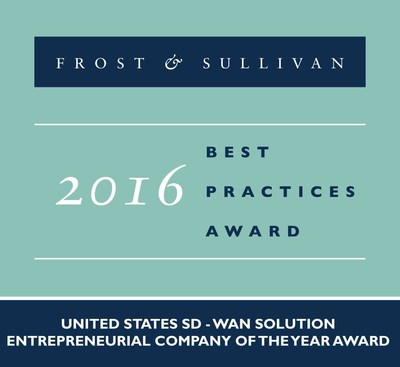 Versa Networks is honored with Frost & Sullivan's Company of the Year Award.