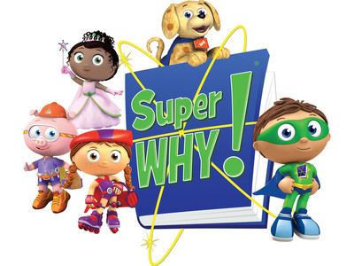 Netflix and PBS expand programming agreement in U.S. and Canada including the hit show, Super WHY!    (PRNewsFoto/Netflix, Inc.)