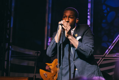 Leon Bridges performs an intimate set at Toyota's Lollapalooza afterparty, 25th Hour, at downtown Chicago's Venue SIX10 on Friday, July 29th.