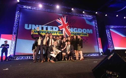 Enactus World Cup 2015 Finalist Team United Kingdom (PRNewsFoto/Enactus) (PRNewsFoto/Enactus)