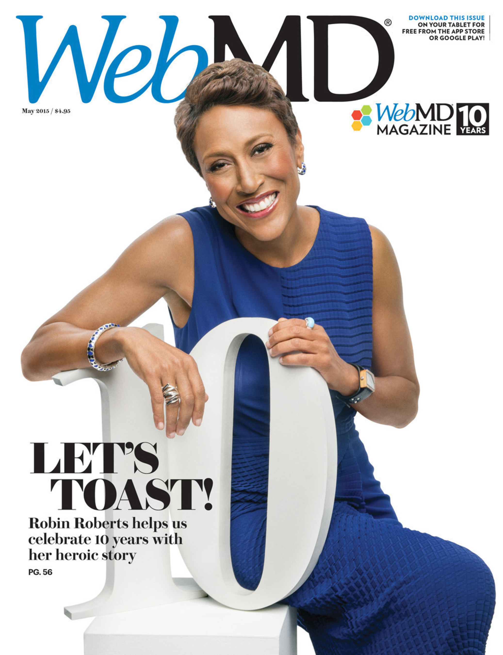WebMD Magazine Celebrates a Decade of Health and Wellness in 10th Anniversary Issue