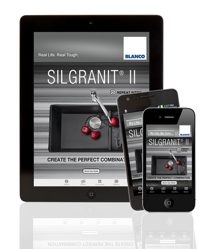 BLANCO expands content and creativity on its popular SILGRANIT(R) II Mobile Color App with more countertops to ...