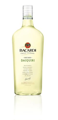 BACARDI Classic Cocktails Hand Shaken Daiquiri.  (PRNewsFoto/Bacardi U.S.A., Inc.)