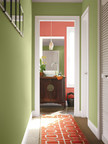 Sherwin-Williams Color of the Year 2015 Coral Reef (SW 6606) is an uplifting, vivacious hue with floral notes that can be used to liven up any space.
