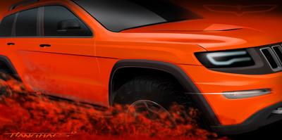 "Jeep Grand Cherokee ""Trailhawk II"" concept. (PRNewsFoto/Chrysler Group LLC) (PRNewsFoto/CHRYSLER GROUP LLC)"